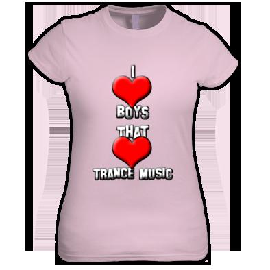Girl T-Shirt Trance Music