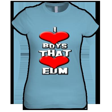 Girl T-Shirt EDM