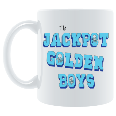 The Jackpot Golden Boys Skulls logo