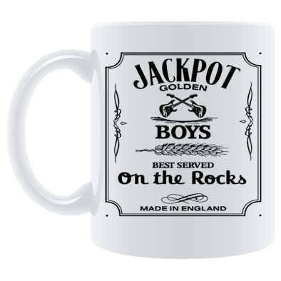 On the rocks in the mug