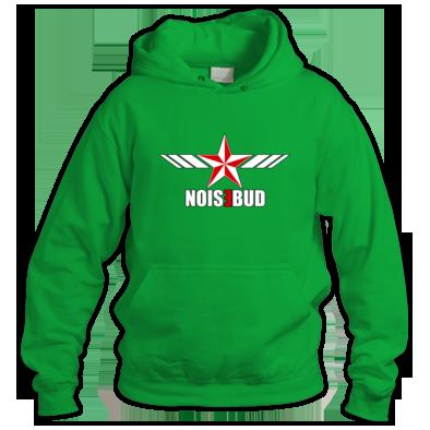 Noisebud Logo on Color or Black Outlined
