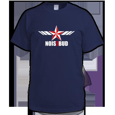Noisebud Logo on Color or Black