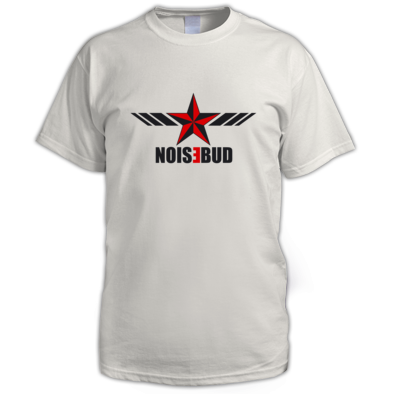 Noisebud Logo on White or Light