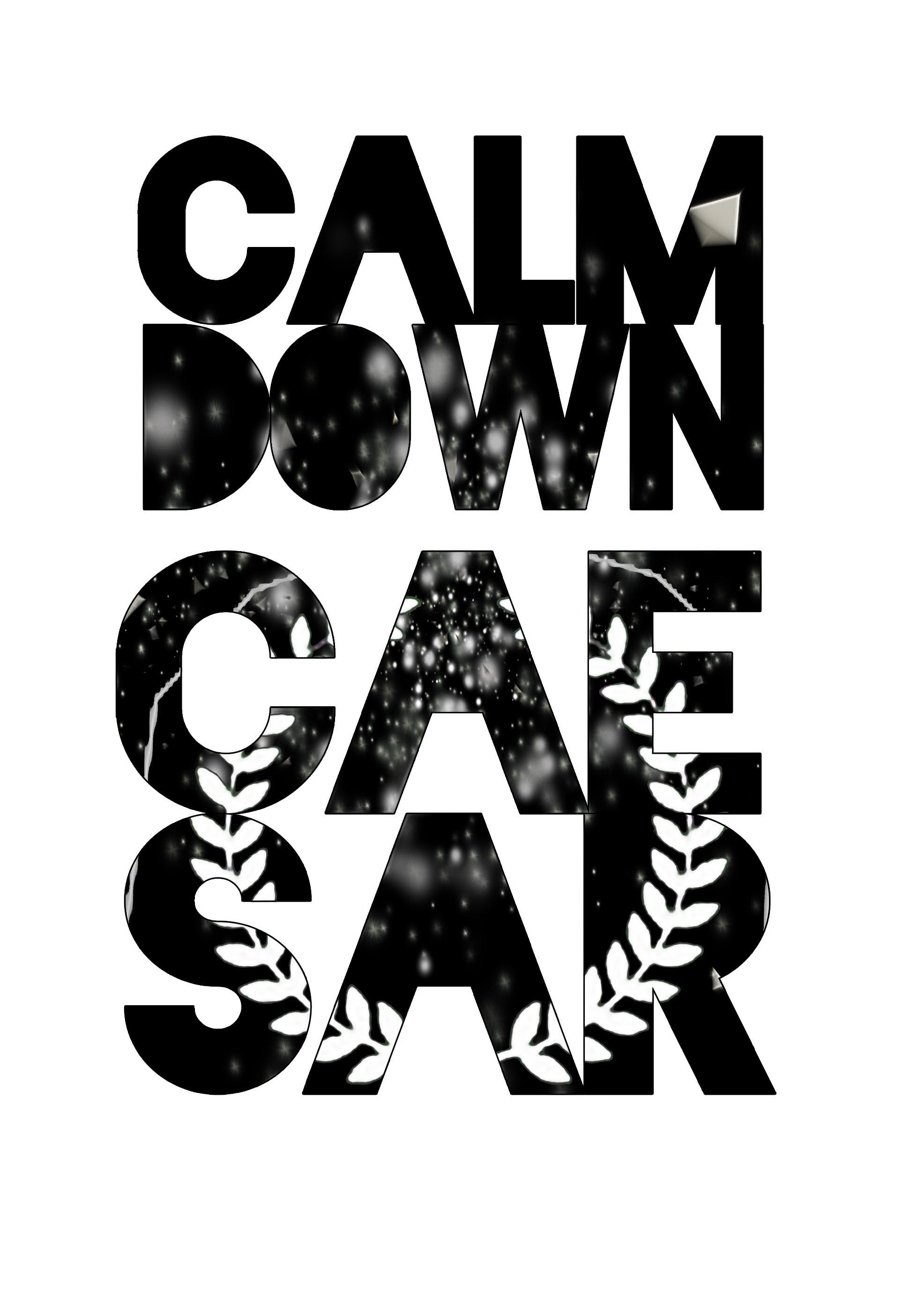 Calm Down Caesar - Official Merchandise