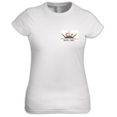 Roland Burrell Music Label Logo Ladies T Shirts