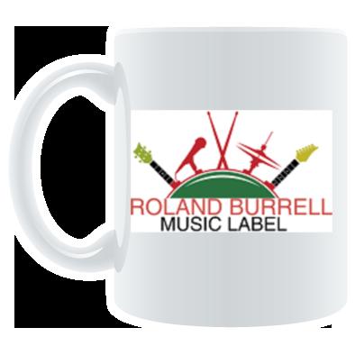 Roland Burrell Music Label Logo Mug