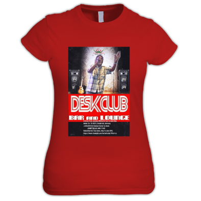 Desk Club Presents Johnny Dollar Lonely Tour Women's T-Shirt