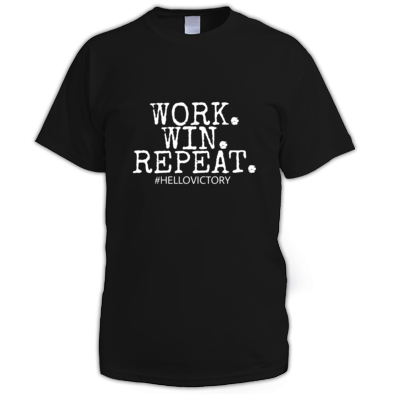 Work. Win. Repeat. T-Shirt (Men)
