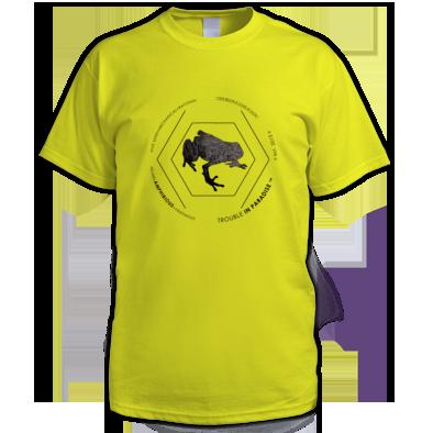 Amphibious #02 Men's Tee - Contrast Edition Black