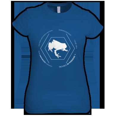 Amphibious #02 Women's Tee - Contrast Edition White