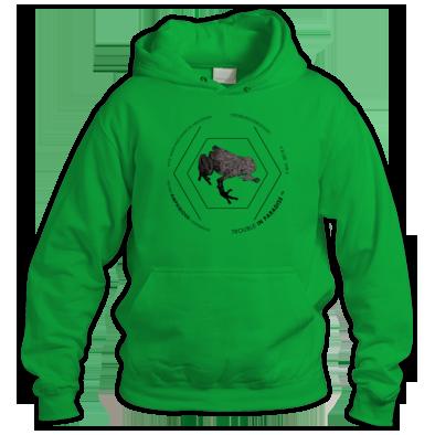 Amphibious #02 Hoodie - Contrast Edition Black