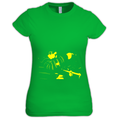 Yellow on Irish green