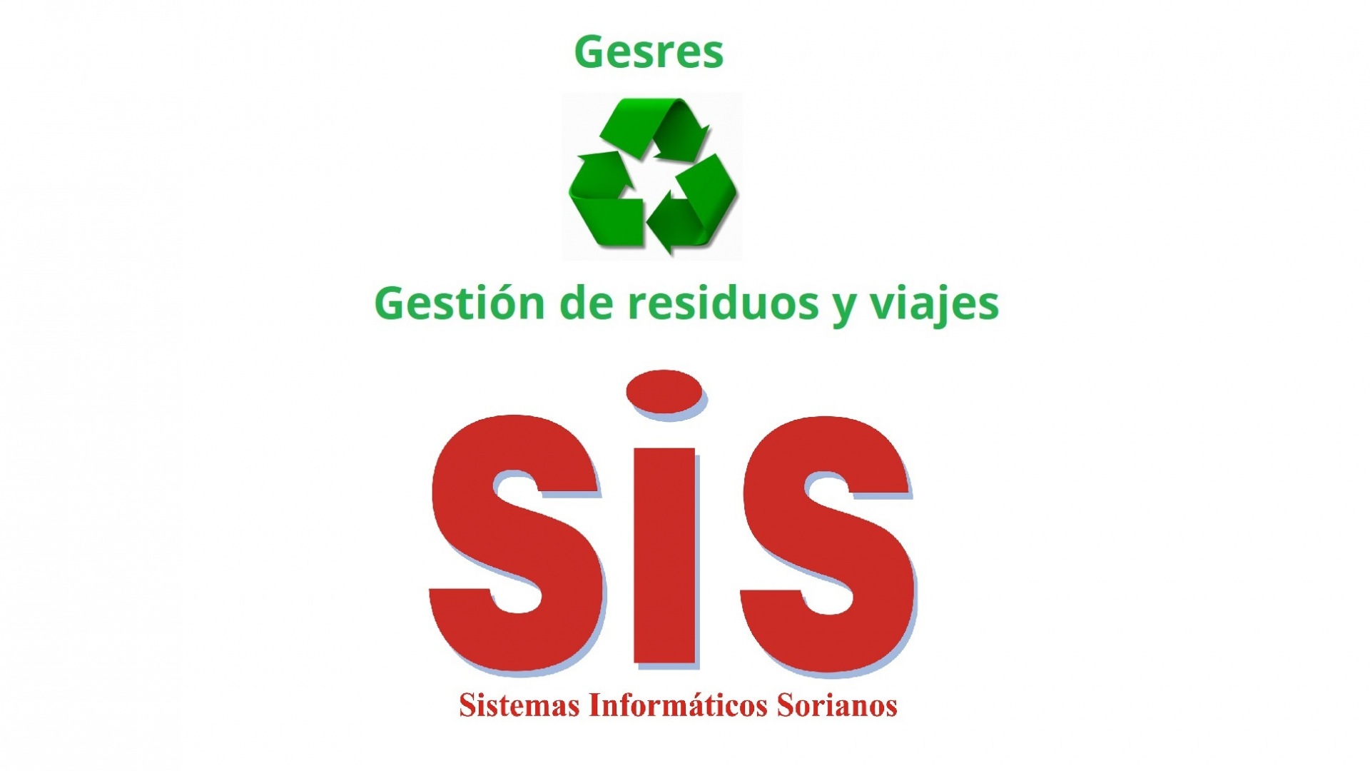 GESRES.- Gestión de residuos, incluido viajes.