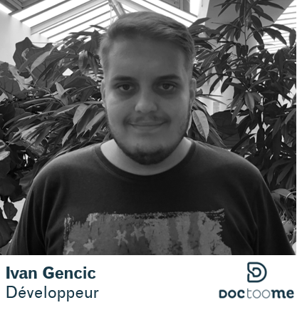 Ivan Gencic développeur Doctoome