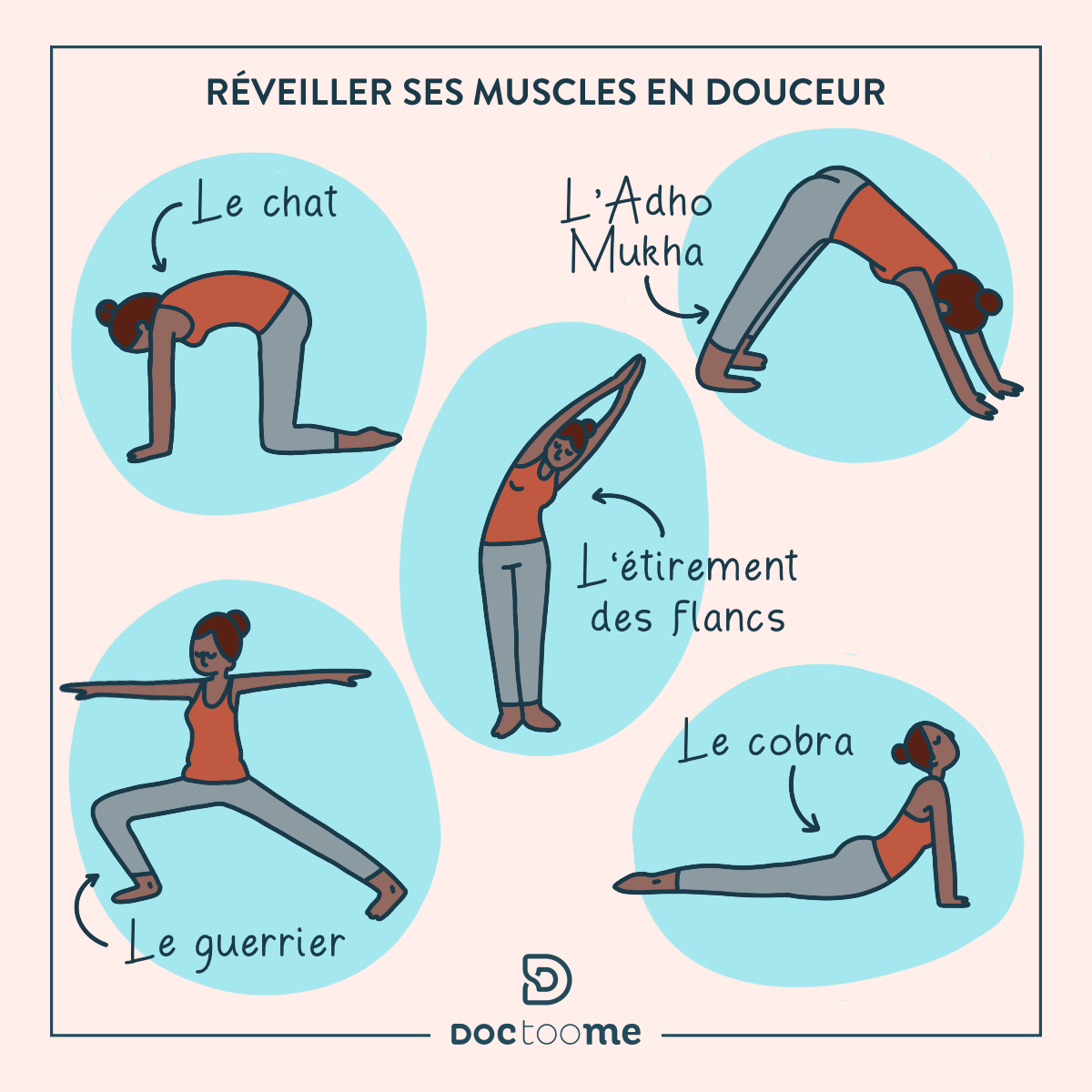 Blog Doctoome | Exercices simples à faire
