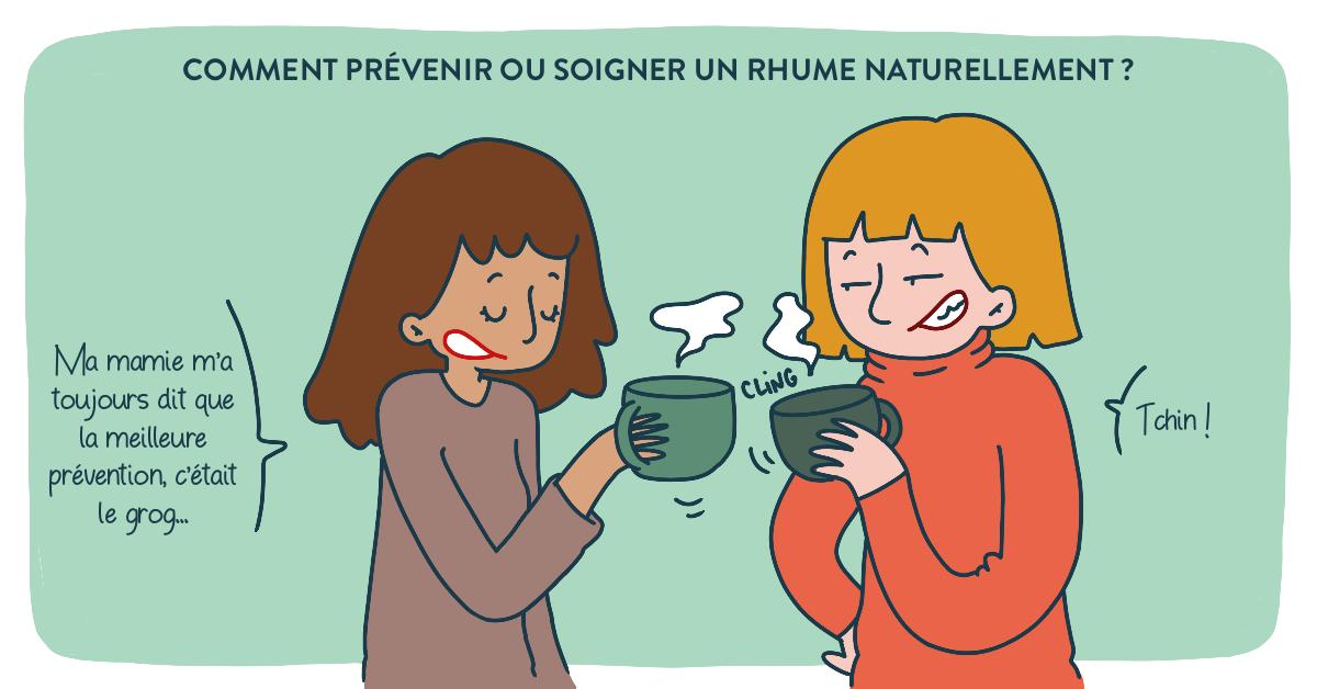 Prévenir et soigner un rhume naturellement !