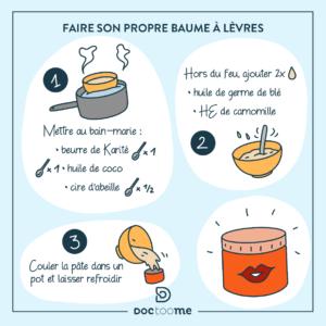 Blog Doctoome | Faire son propre baume à lèvre - bien s'hydrater l'hiver