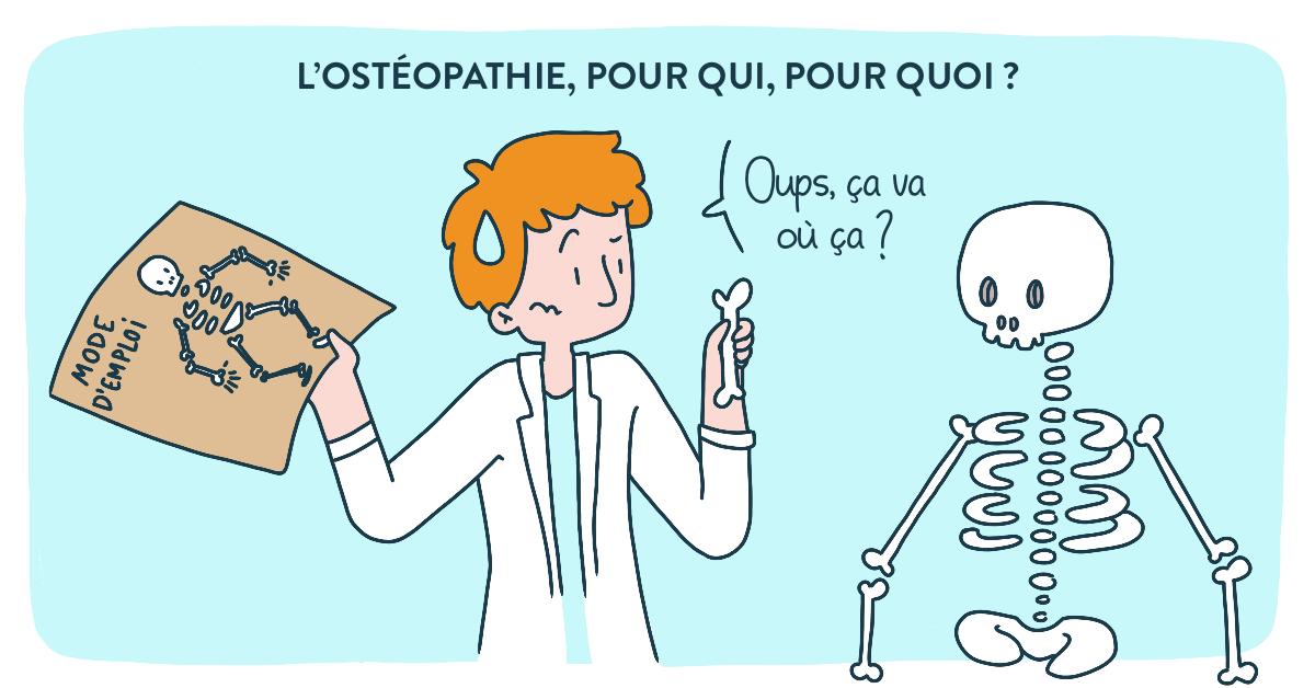 L'Ostéopathie : Pour qui ? Pour quoi ?