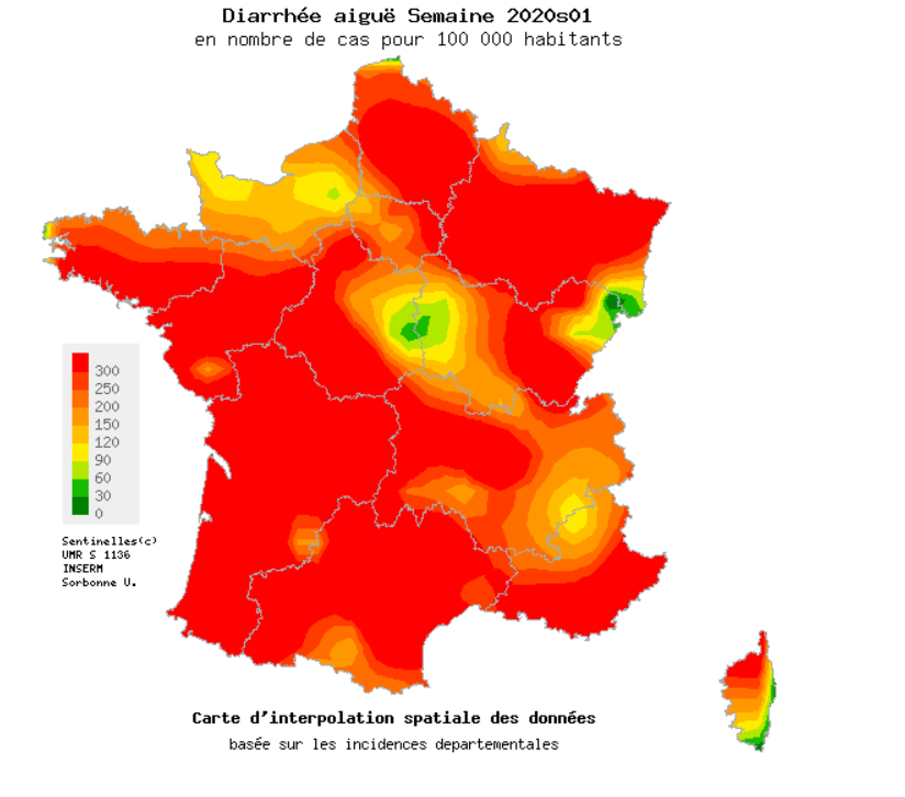 Blog Doctoome | Épidémie de gastro-entérite : la France voit rouge !