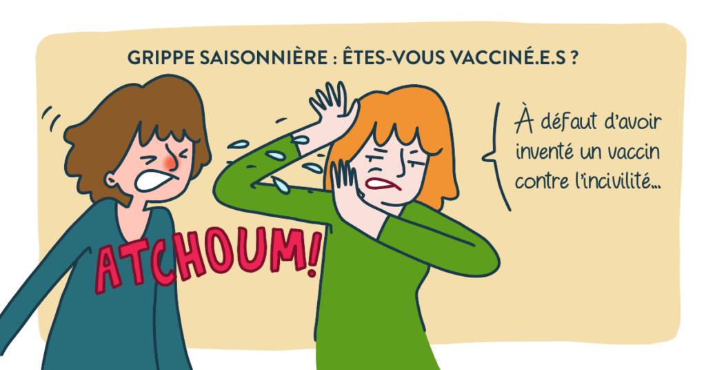 Blog Doctoome |  Épidémie de grippe saisonnière : la France entière en alerte rouge