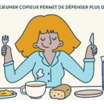 Un petit-déjeuner copieux permet de dépenser plus de calories