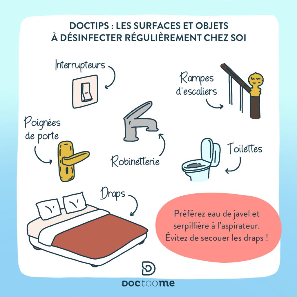 Blog Doctoome - comment laver son linge pour éliminer le coronavirus