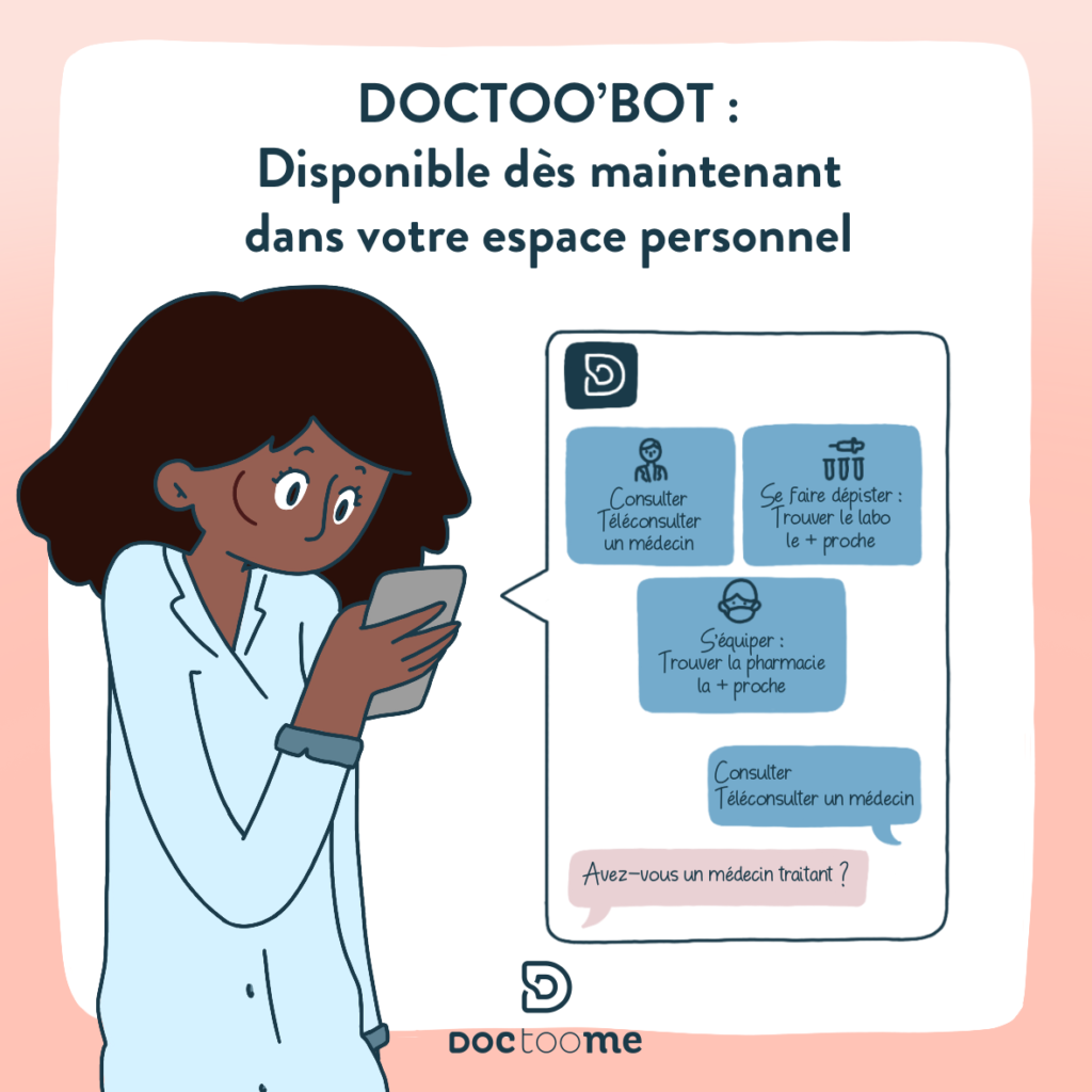 Doctoobot : votre aide personnel post covid-19