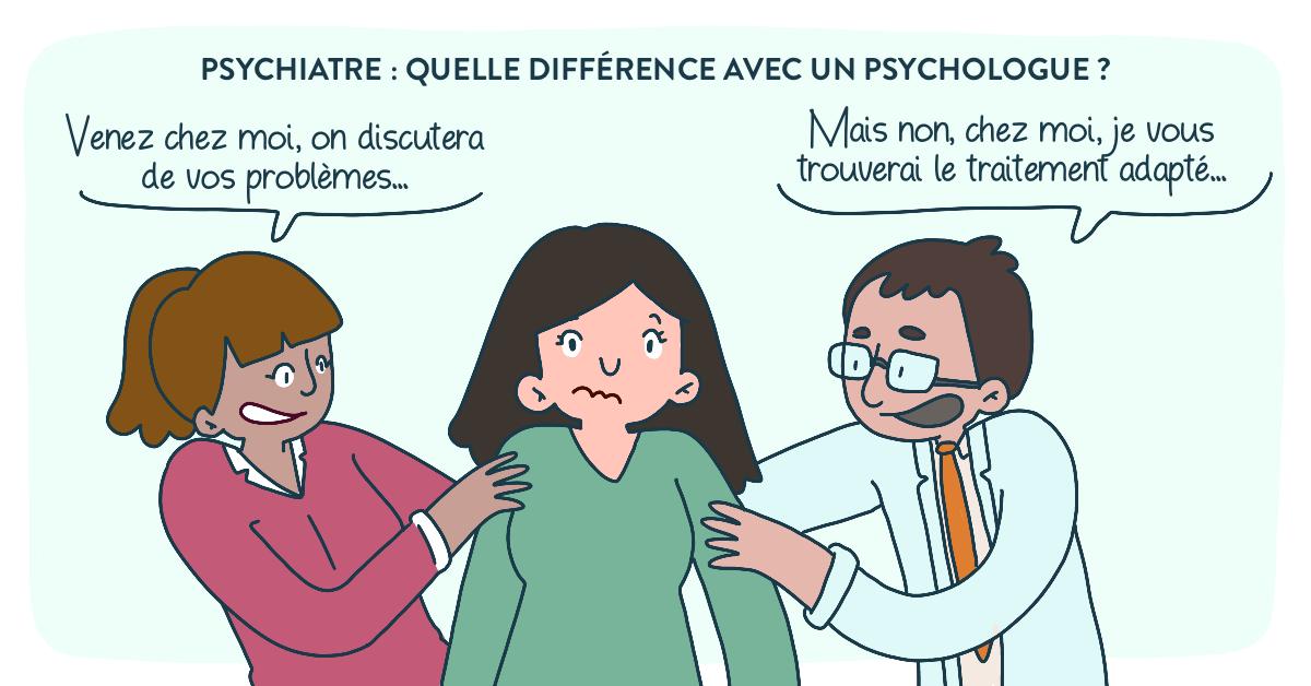 Psychiatre ou Psychologue quel spécialiste consulter