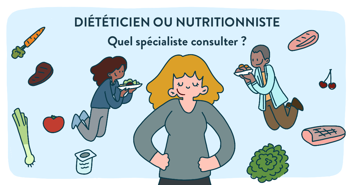dieteticien ou nutritionniste choisir
