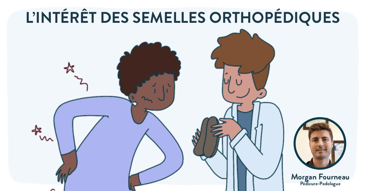 semelles orthopédiques - Morgan Fourneau