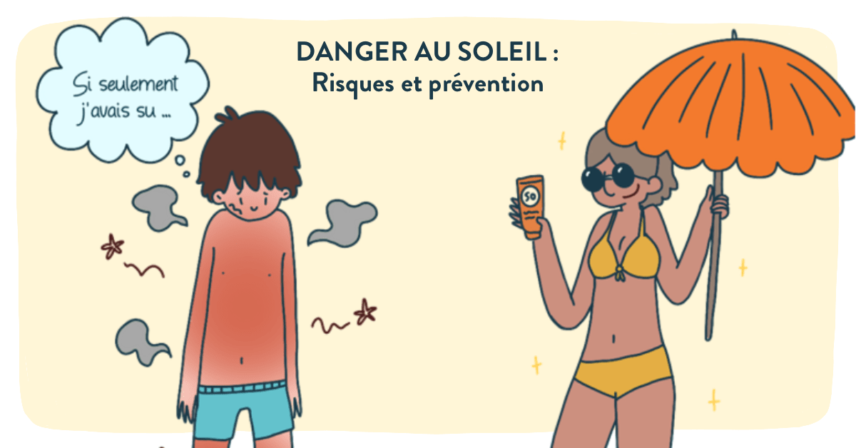 danger au soleil -risques-prevention
