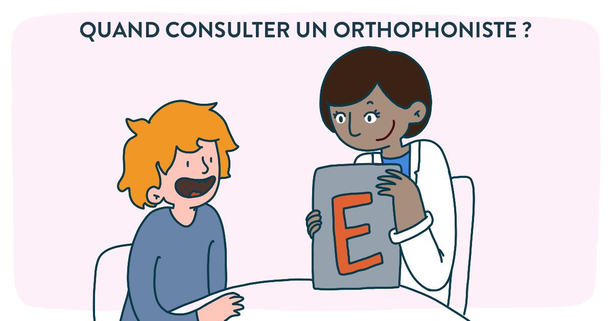 Dans quel cas consulter un orthophoniste ?