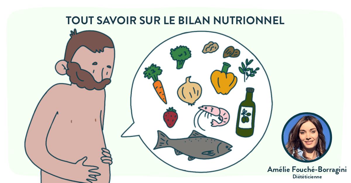 Faire un bilan nutritionnel avec une diététicienne