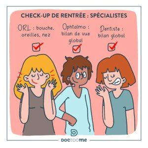 check up spécialiste