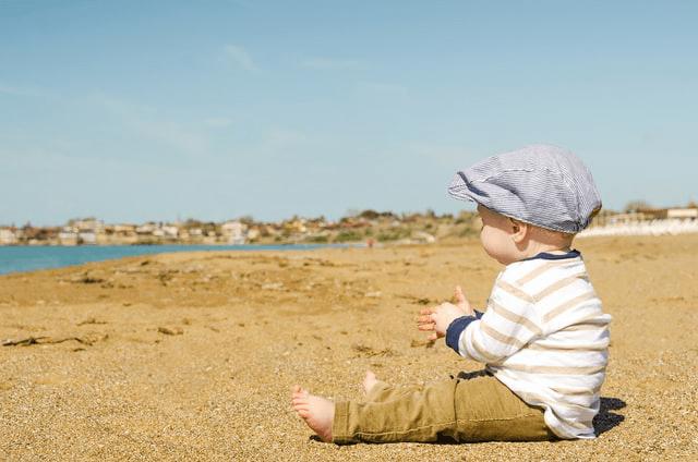 dangers  soleil enfant