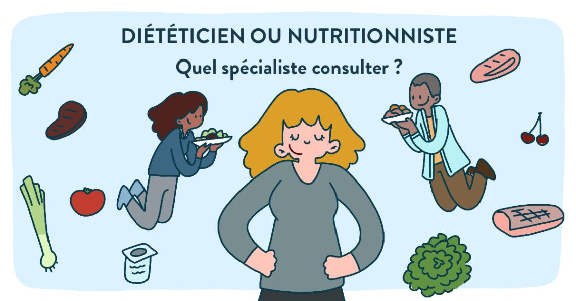 diététicien ou nutritioniste : choisir le bon professionnel de santé