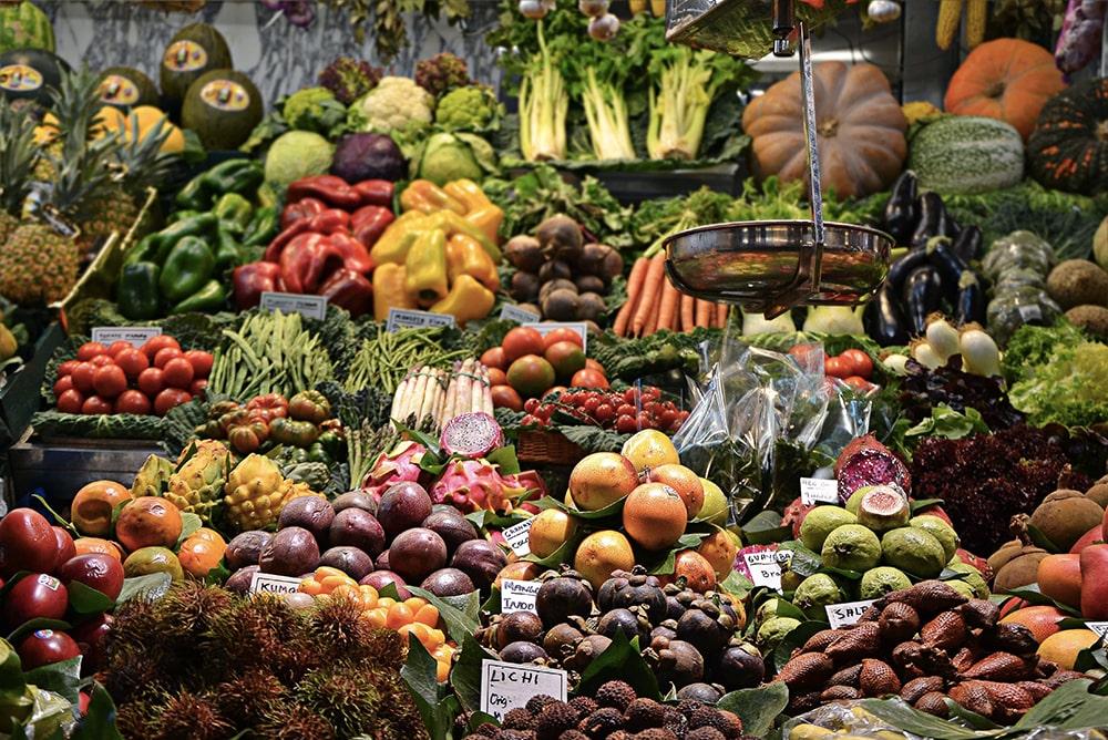 Consommer des fruits et légumes