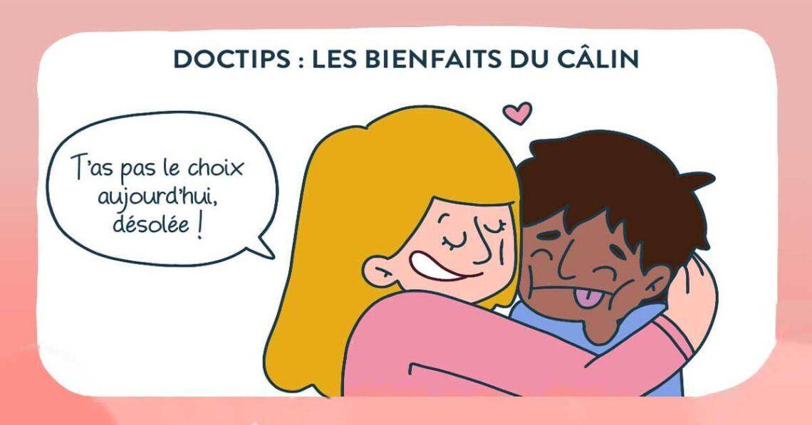journée internationale des câlins - bienfaits du câlin sur la santé