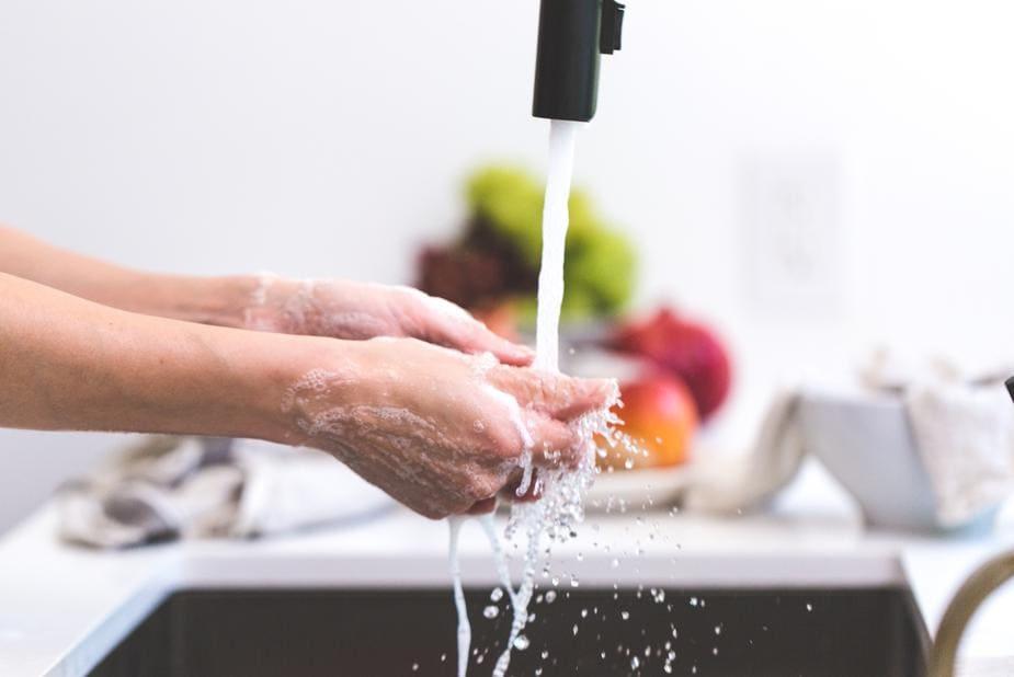 lavage de main gastro-entérite