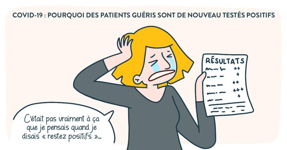 patients guéris : pourquoi ils sont de nouveau testé positifs ?