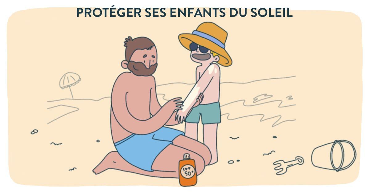 Comment protéger son enfant du soleil ?