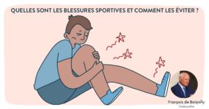 Quelles sont les blessures sportives et comment les éviter ?