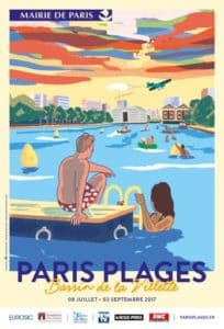 Affiche Paris Plage