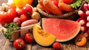 Fruits-et-légumes bronzage