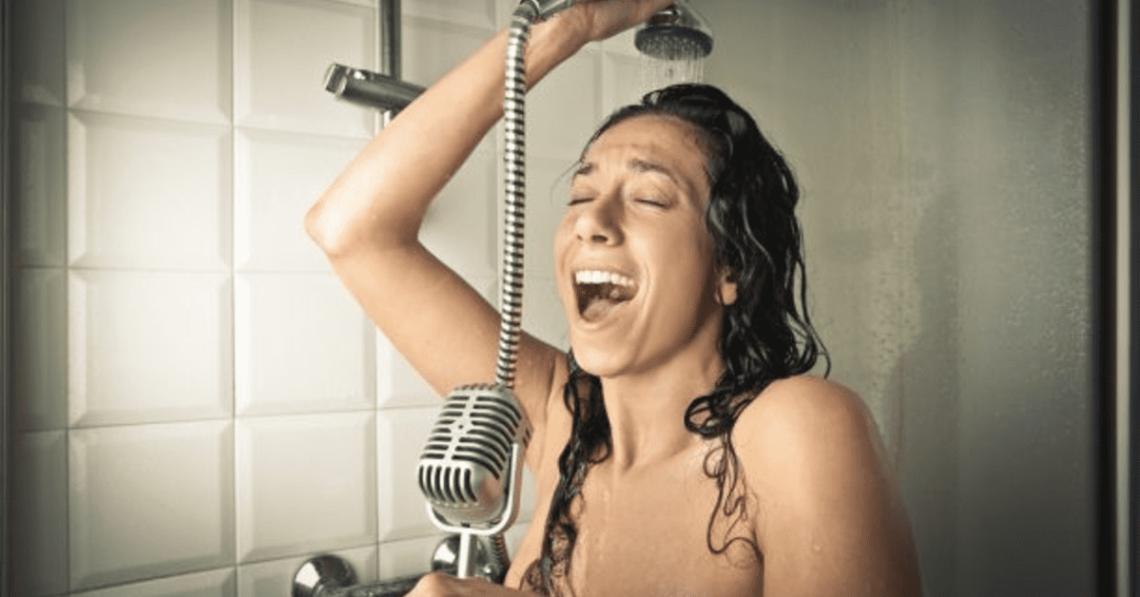 Vous chantez sous la douche _ Continuez
