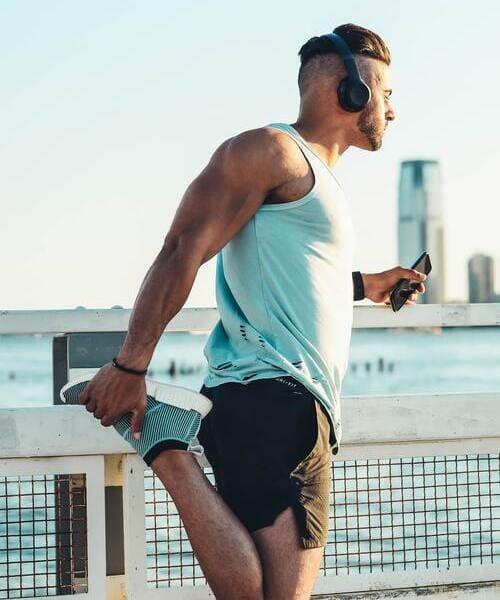 étirement course à pied
