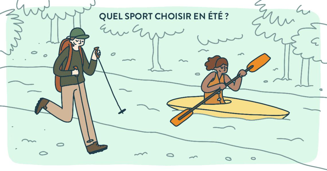 Quel sport choisir en été ?