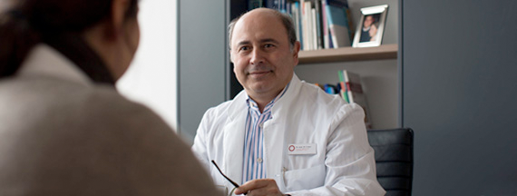 Patientengespräch Venenspezialist Mete Camci