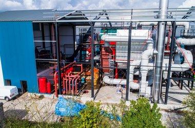 Biomassa installatie