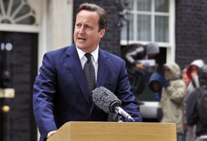 El primer miinistre David Cameron, triomfador de les eleccions legislatives del Regne Unit del passat 7 de maig / Brett Jordan (Backbenchers)